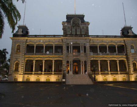 Iolani Palace Night